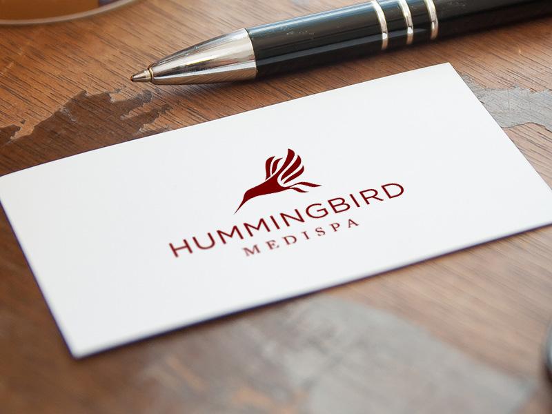 Hummingbird MediSpa Identity